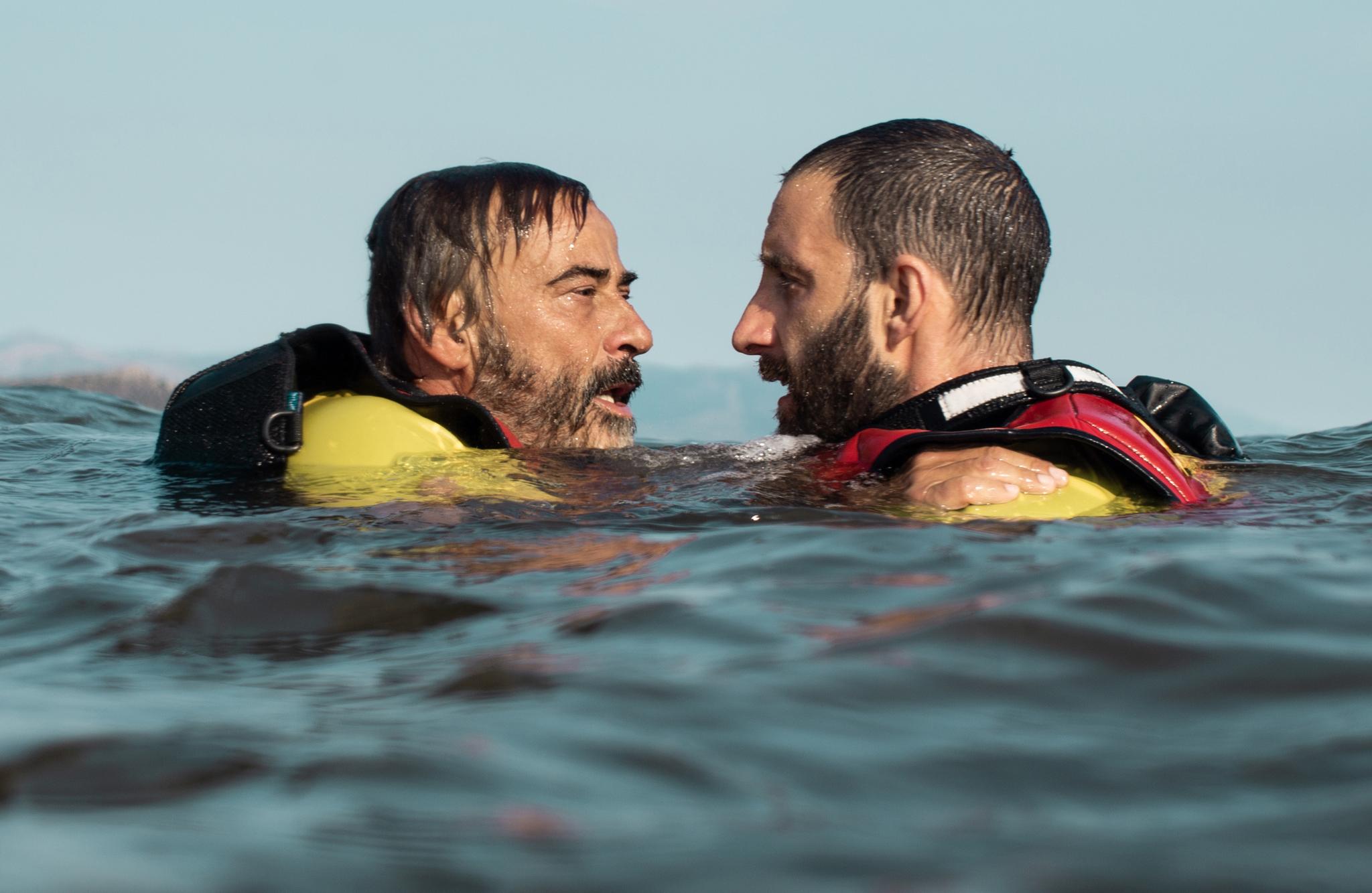 Dani Rovira con Eduard Fernández en Mediterráneo