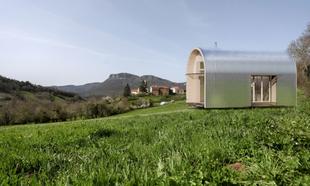 Casa prefabricada diseñada por el arquitecto Patxi Mangado.