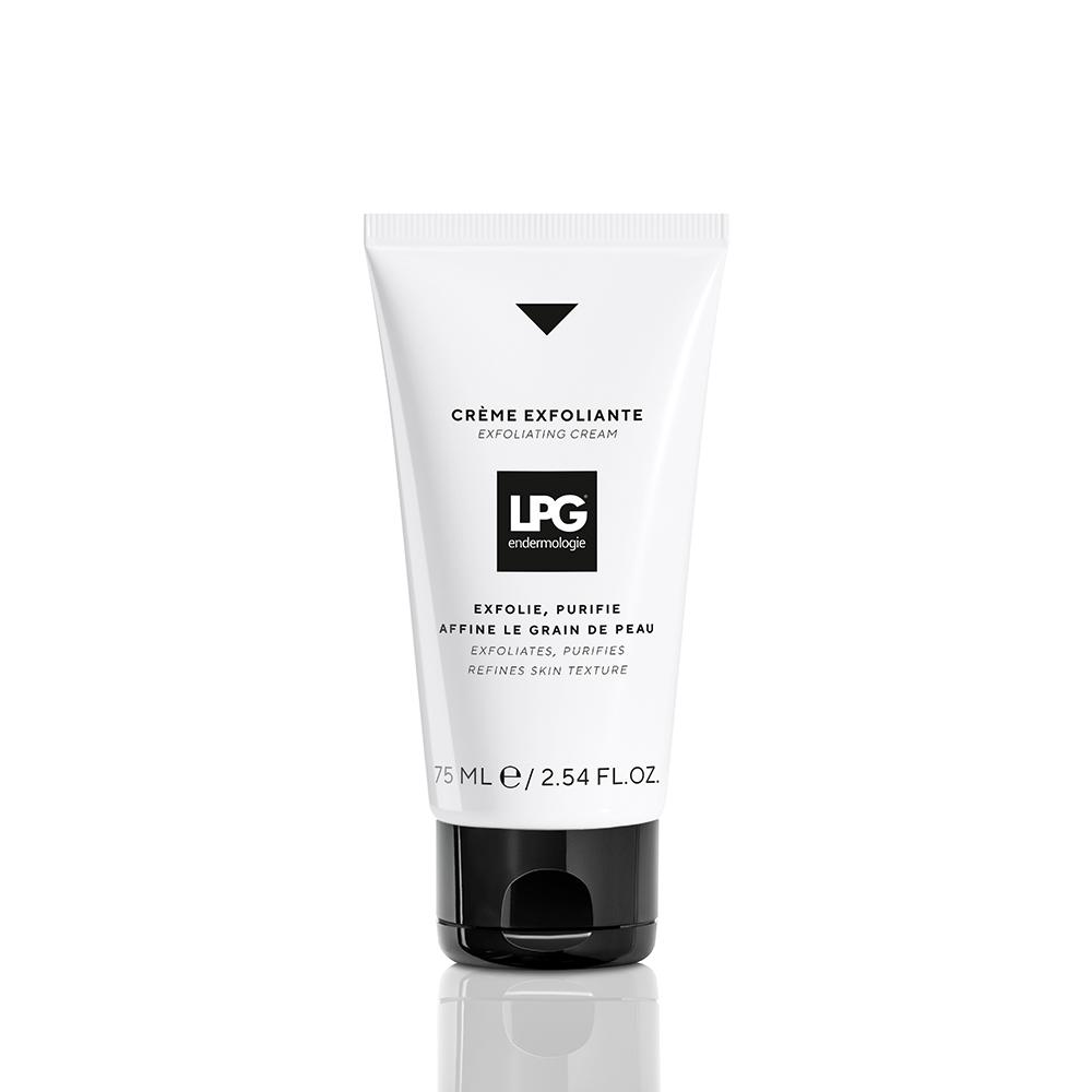 Crema exfoliante de LPG.