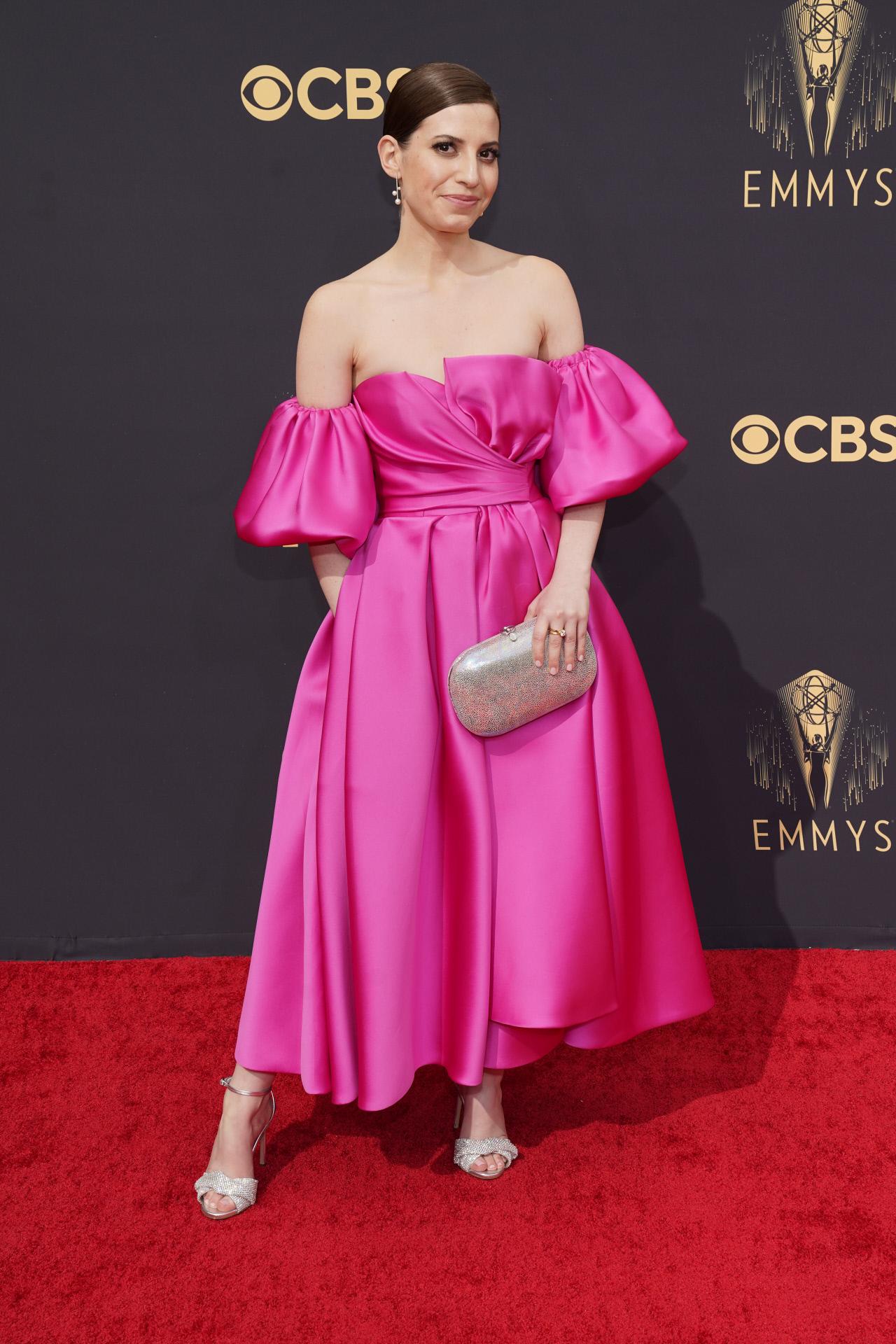 Eliana Kwartler en los premios Emmy 2021.