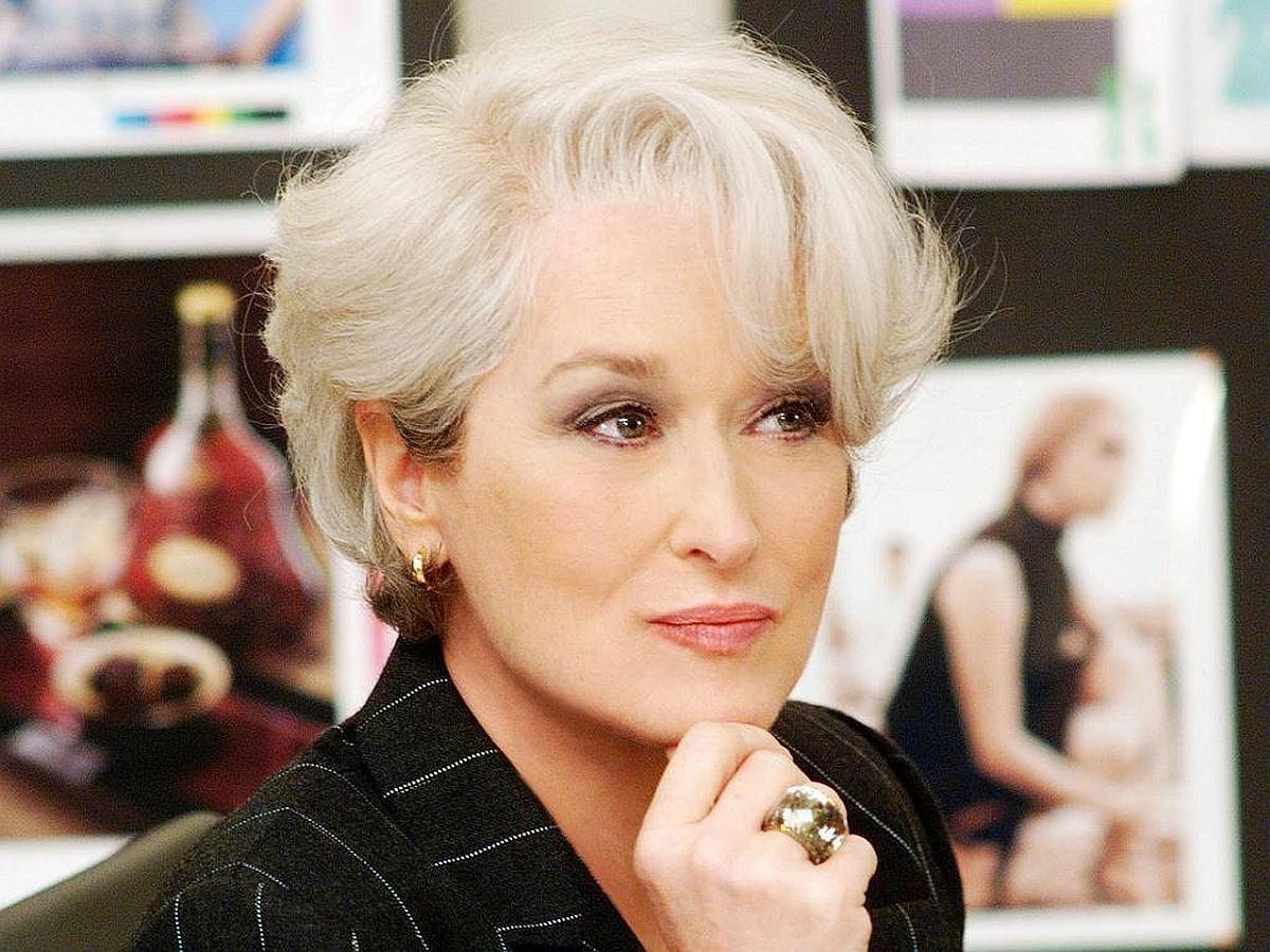 Meryl Streep en El diablo se viste de Prada.