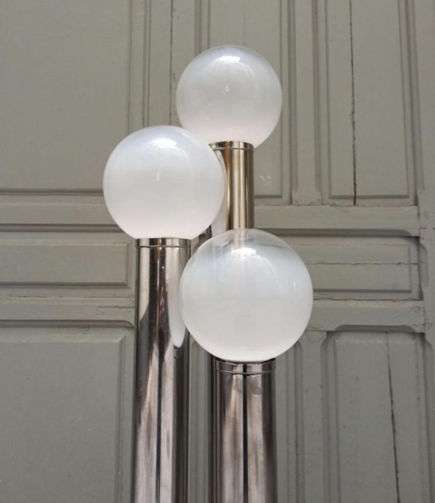 Lámpara de pie italiana años 70