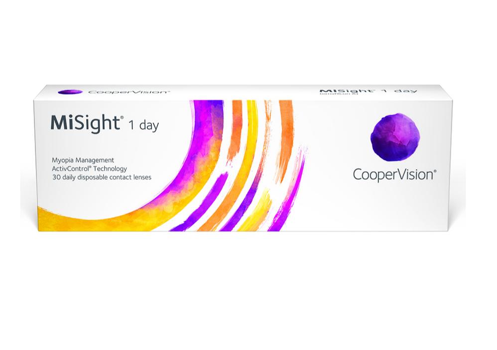Lentillas de doble foco MiSight® 1 day.