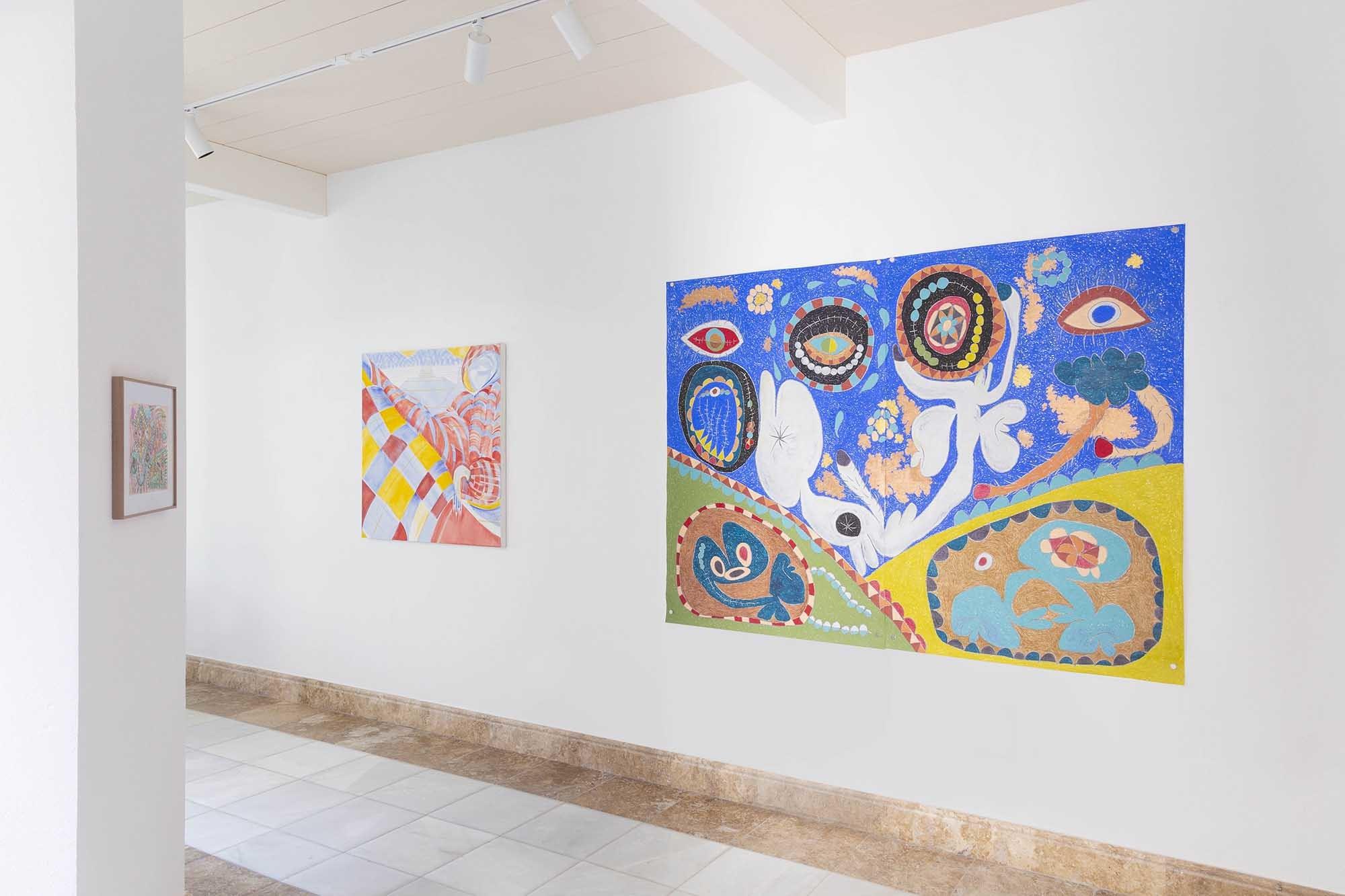 'Salvaje y dulce', en la galería Badr El Jundi, en Marbella.