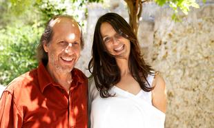 Paco de Lucía y su hija, Casilda Sánchez Varela