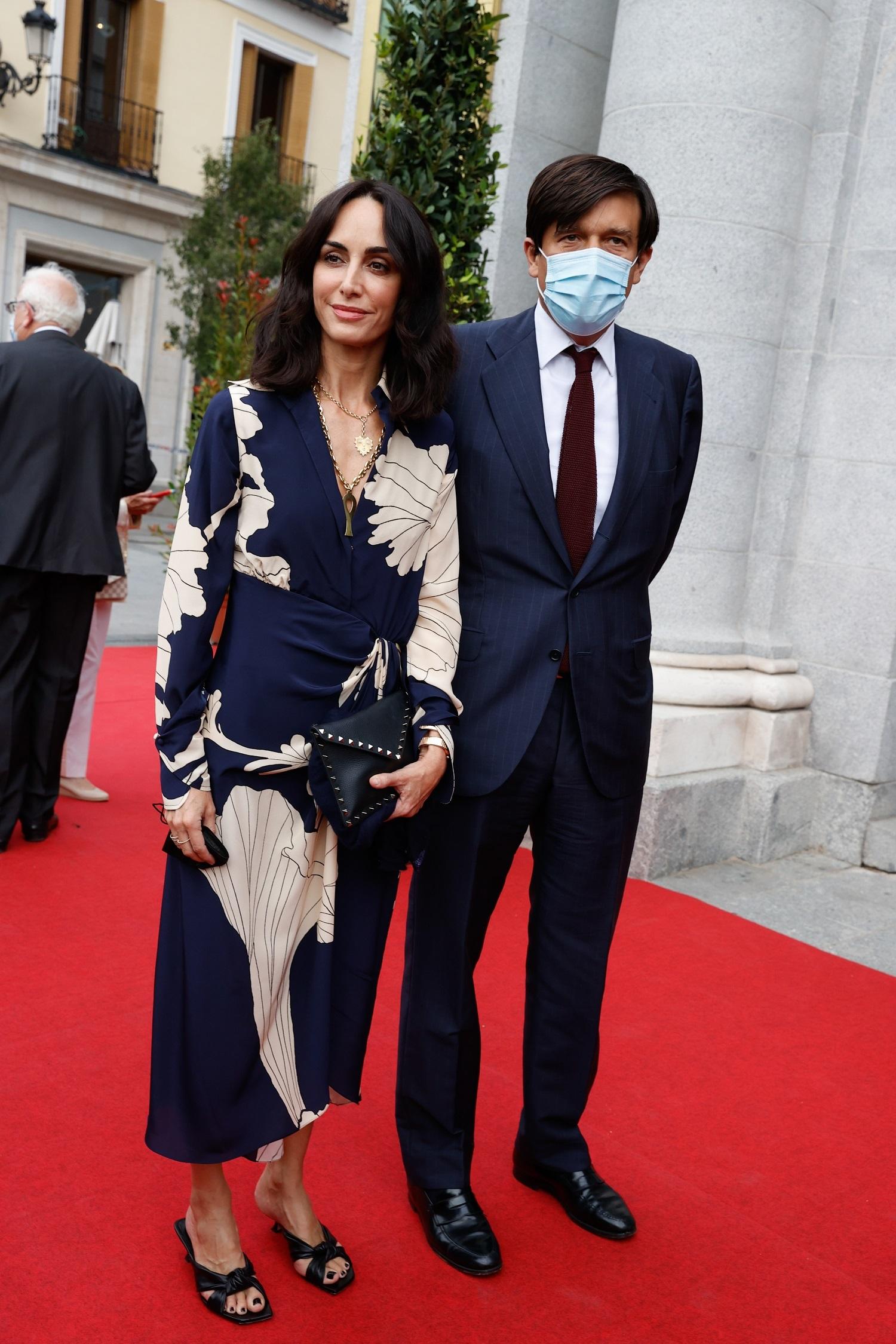 Amparo Corsini con su marido, Manolo Falcó.