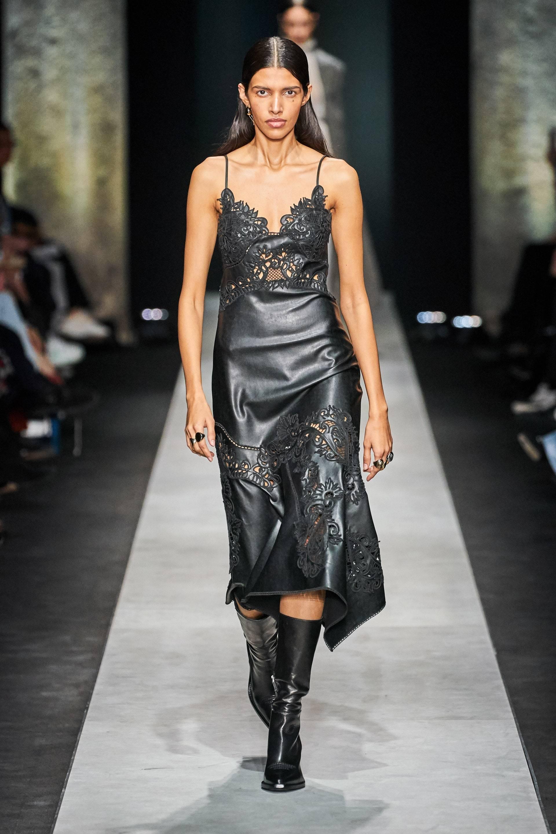 Vestido Ermanno Scervicino de Olivia Palermo