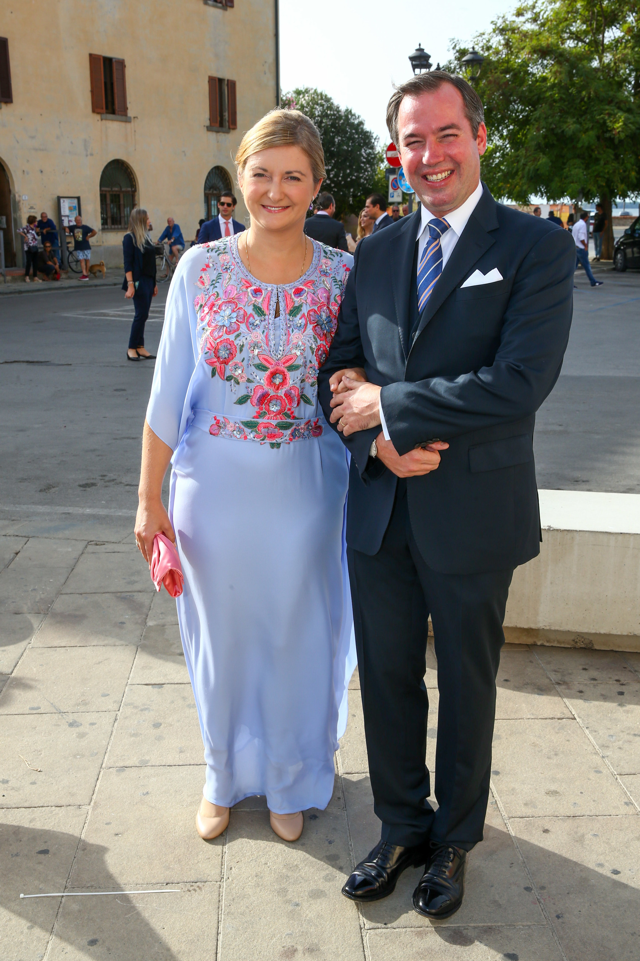 Stephanie y Guillermo de Luxemburgo.