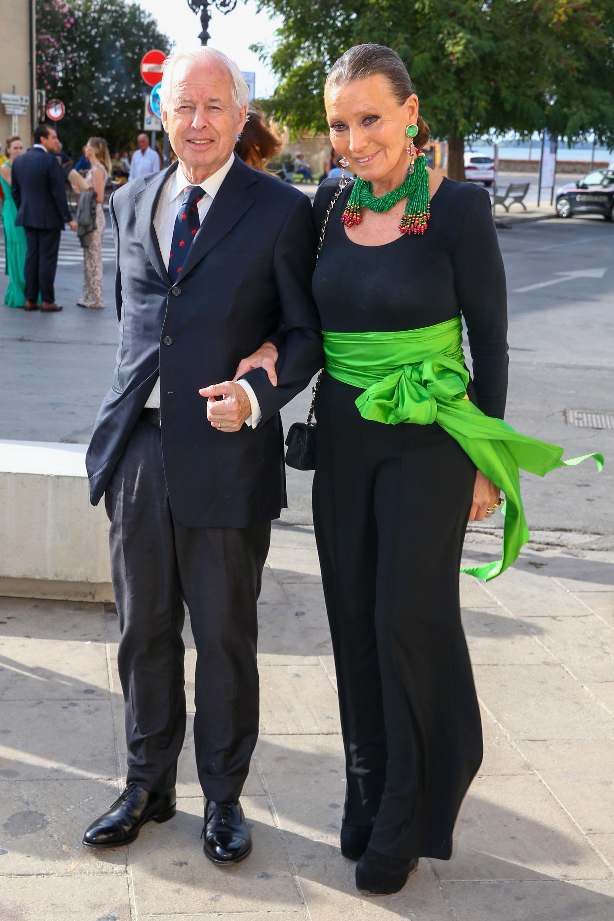 Los príncipes Philip e Isabelle de Liechtenstein.
