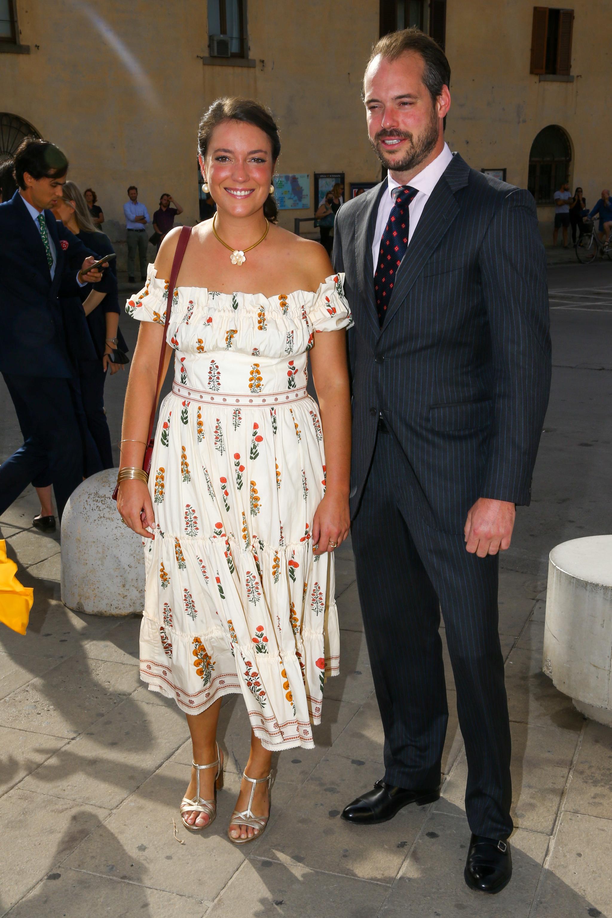 Clara y Felipe de Luxemburgo.