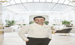 El chef en el nuevo Mandarín Oriental Ritz.