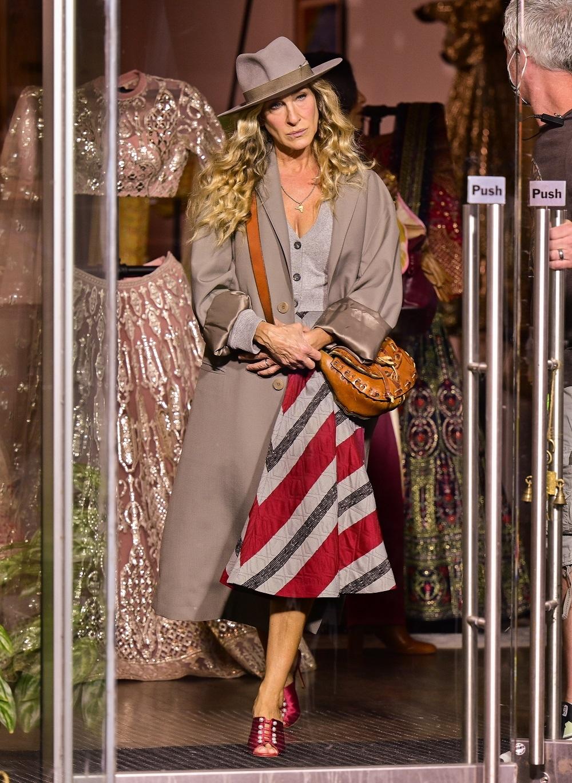 Sarah Jessica Parker en el rodaje del reboot de Sexo en Nueva York.