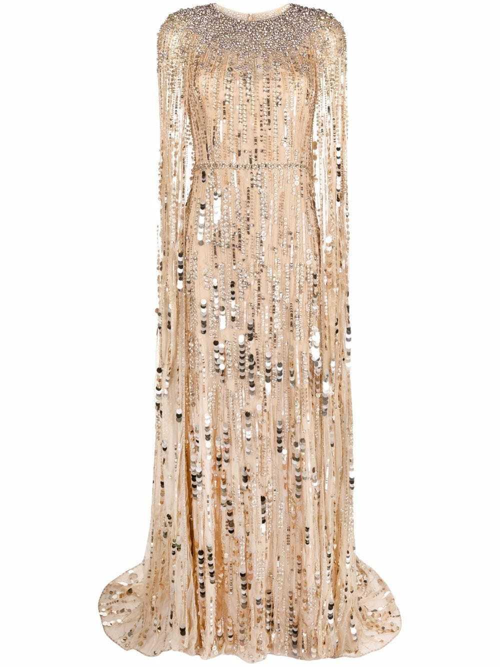 Uno de los diseños de Jenny Packham que más se parecen al que llevaba ayer Kate Middleton. Lo puedes encontrar en Farfetch.