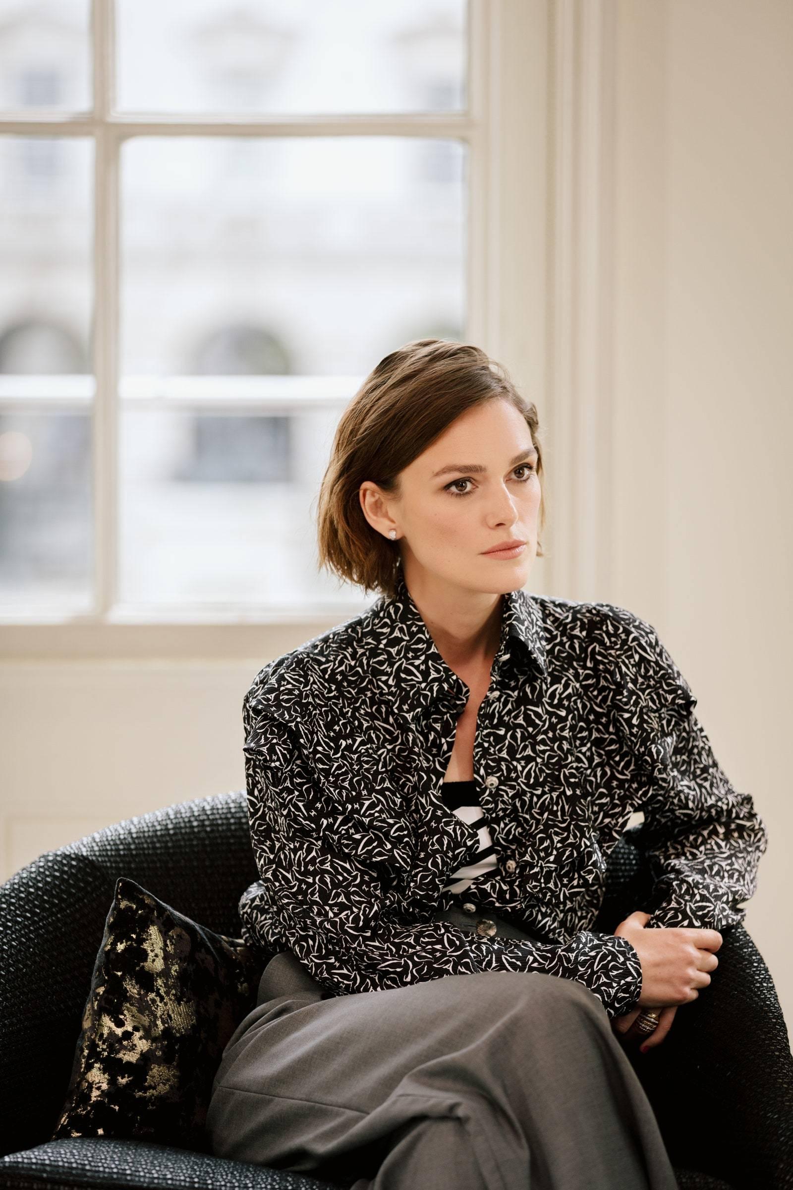 Keira Knightley ha sido una de las invitadas a la nueva edición del club literario de Chanel.