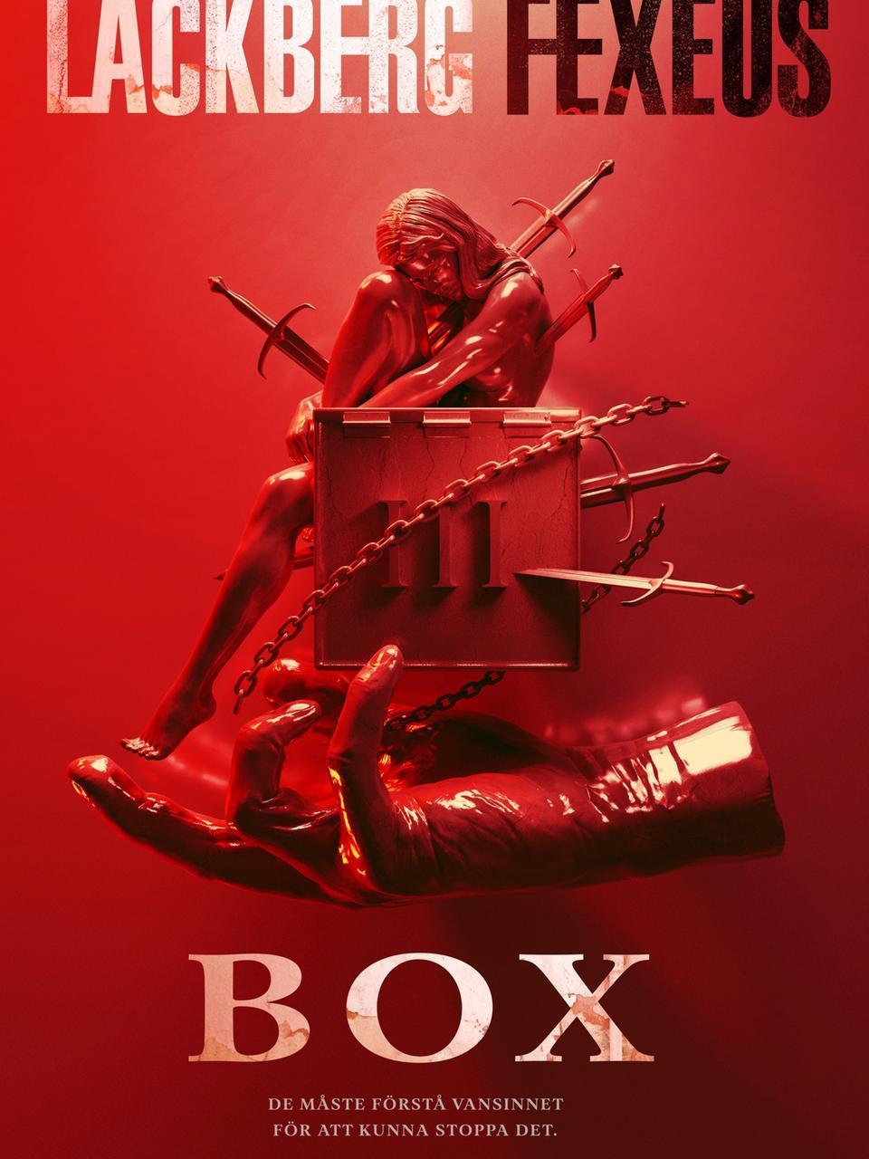 """""""Box"""" es la primera novela de una nueva trilogía que Camilla Läckberg ha escrito junto al mentalista Henrik Fexeus."""