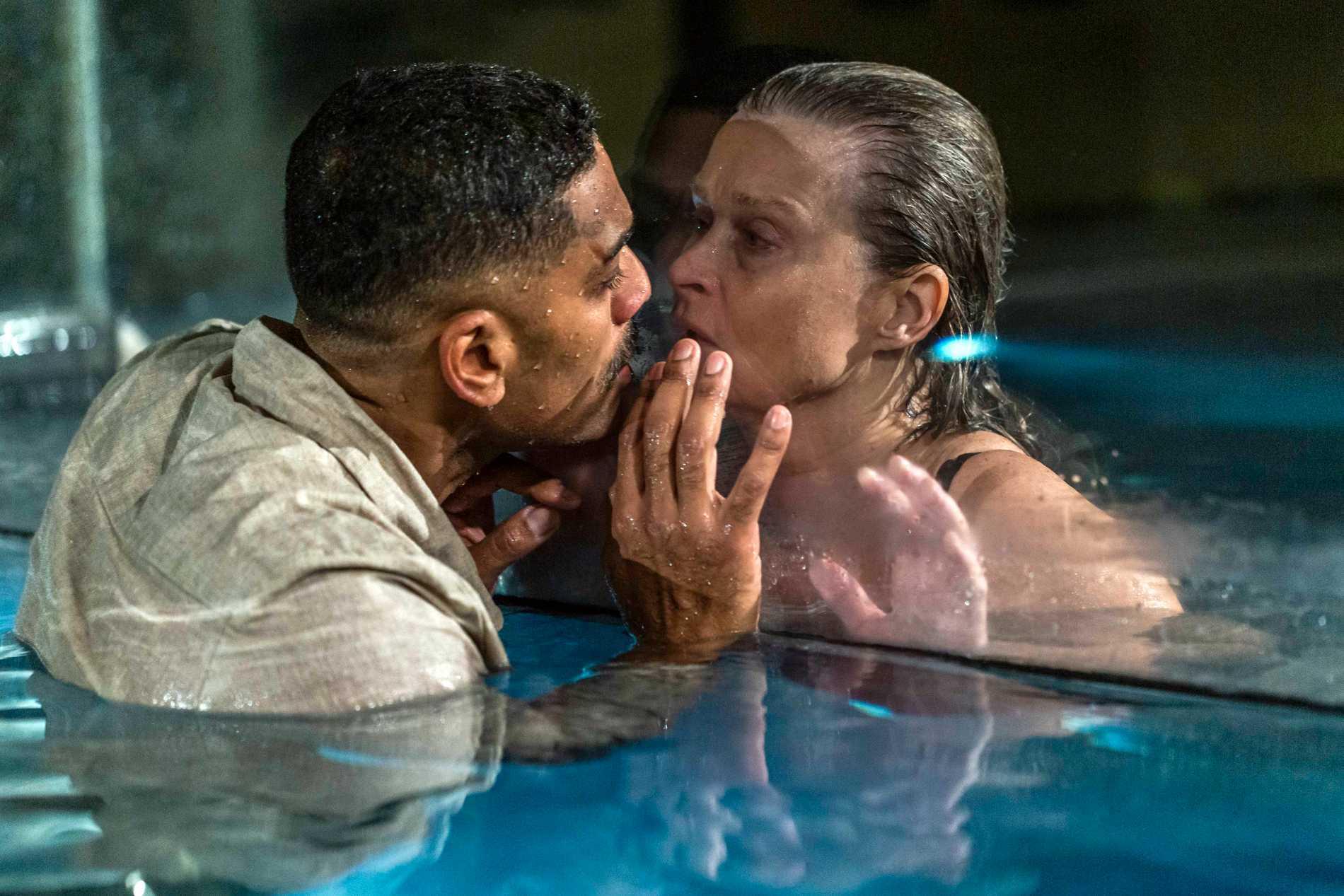 """Alexander Karim y Lena Endre protagonizan la película """"Glaciar"""", cuyo guion ha escrito Camilla Läckberg."""