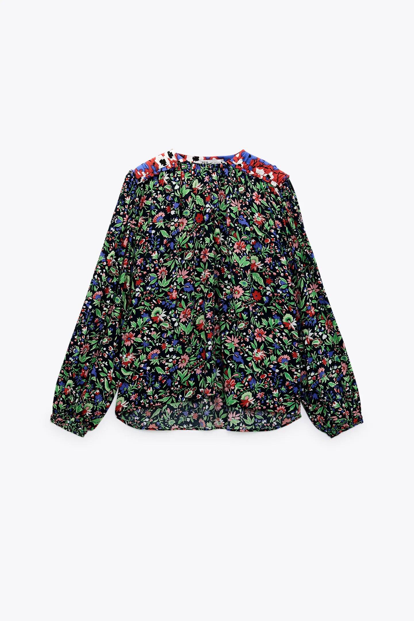 Camisa de Zara.