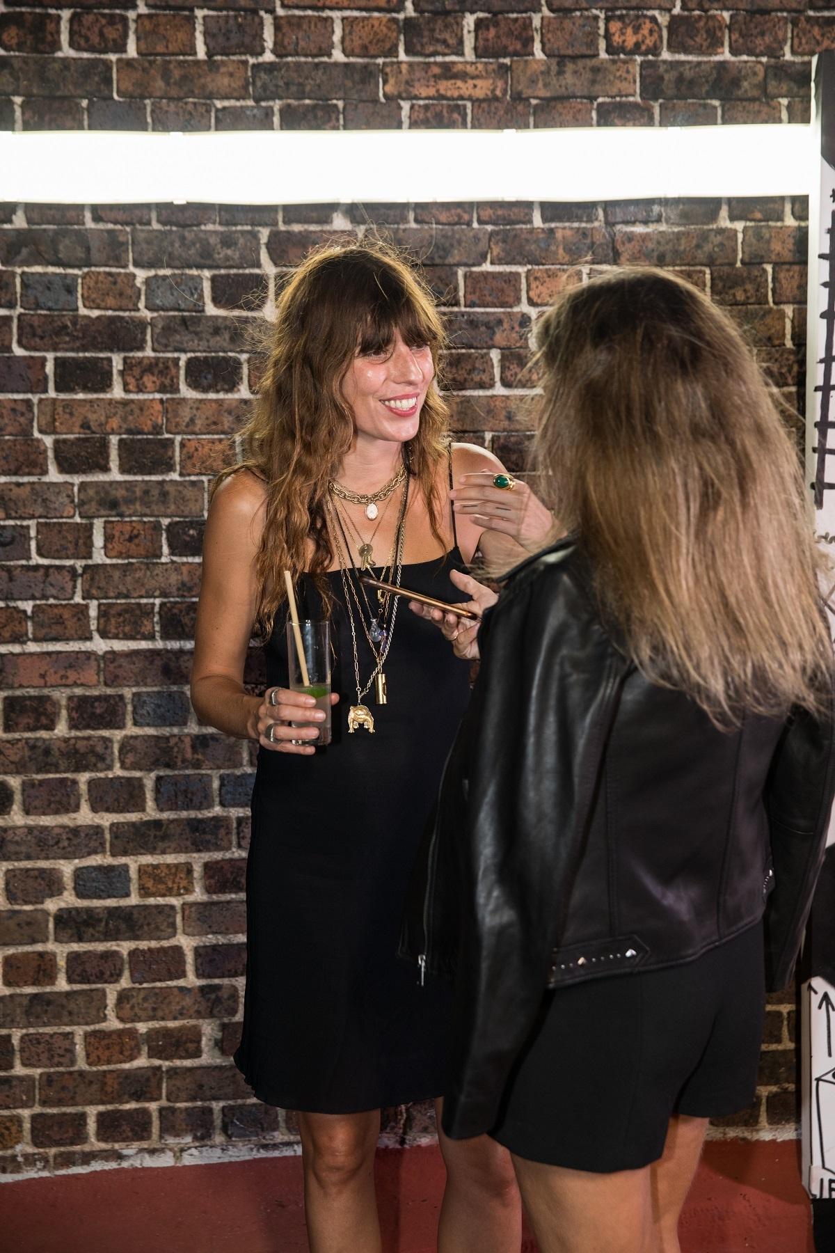 En un momento de la entrevista con Lou.