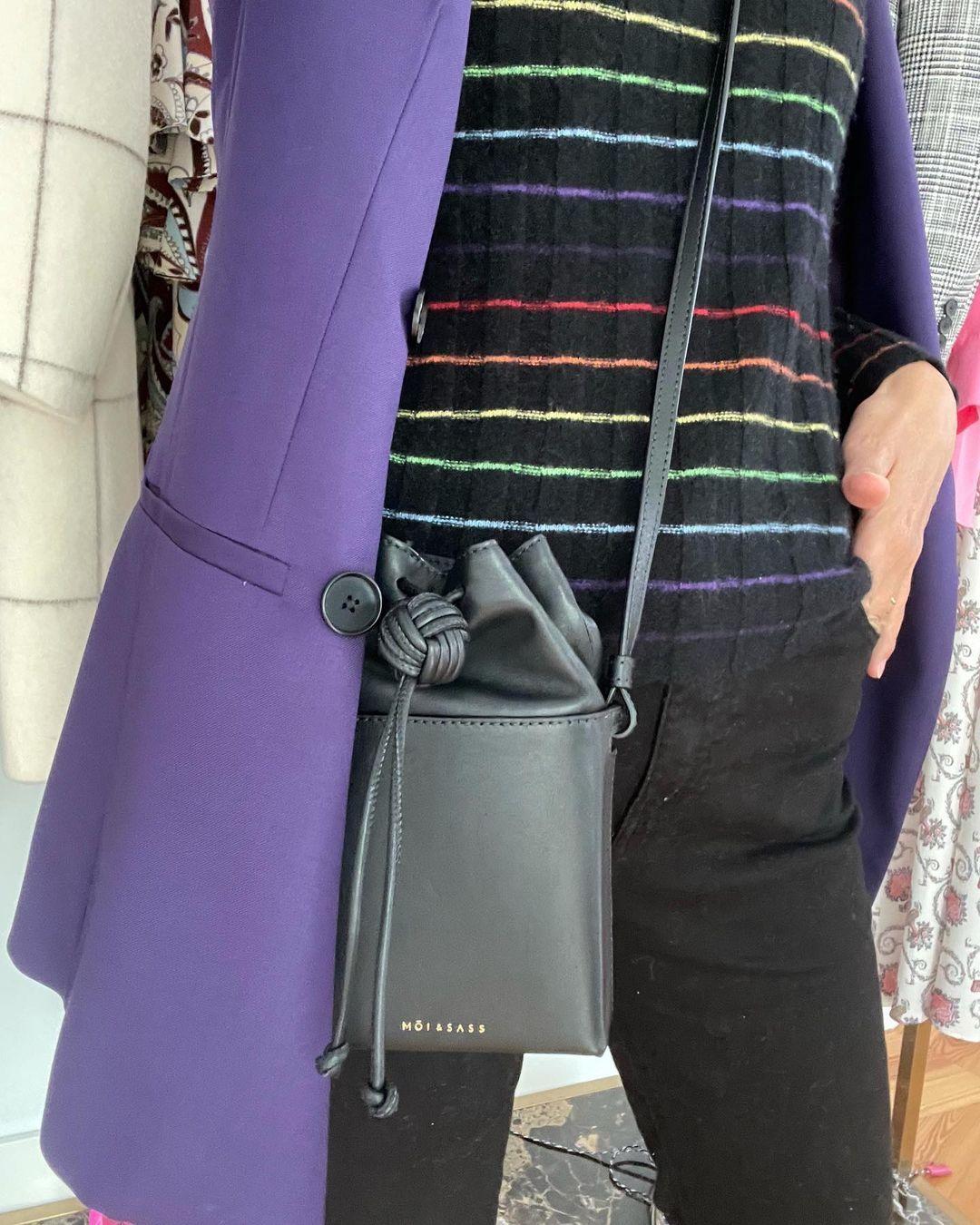 El bolso de Sassa de Osma, de su firma Moi&Sass.