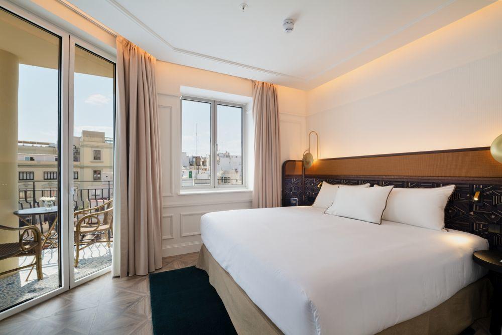 El Only You Hotel Valencia cuenta con 191 habitaciones en el centro histórico de la ciudad del Turia.