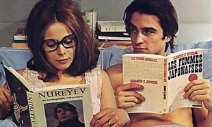 Escena de la película Domicilio conyugal, de Truffaut