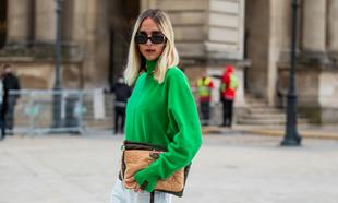 El verde ha sido el color más visto en las semanas de la moda.