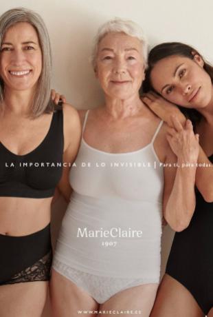 """Campaña """"La importancia de lo invisible"""" de Marie Claire."""
