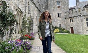 La princesa Leonor en su colegio de Gales