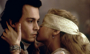Johnny Depp y Christina Ricci en Sleepy Hollow