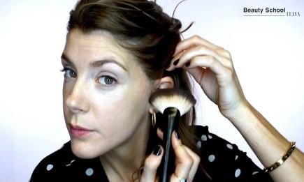 ¿Cómo estructurar el rostro en un maquillaje?