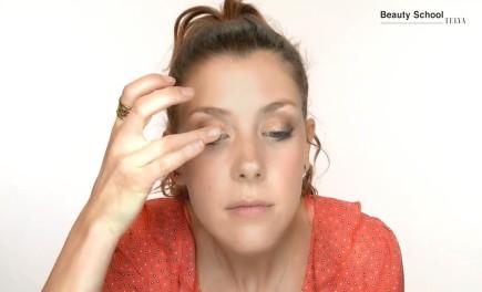 Maquillaje atrevido de invitada de boda