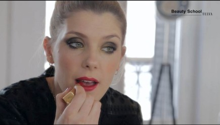 Maquillaje de alfombra roja