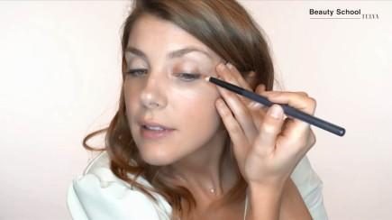 Maquillaje en burdeos para otoño