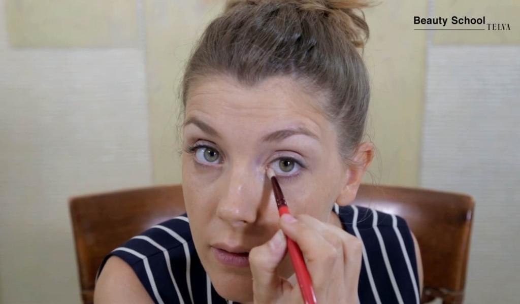 Maquillaje Natural Tutorial En Beauty School - Maquillaje-natural-de-dia