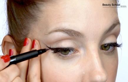 Cómo hacer un eyeliner paso a paso