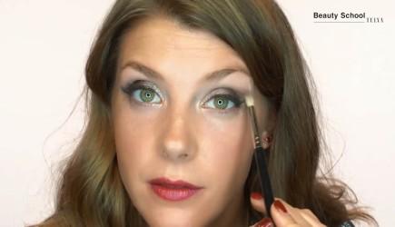El maquillaje perfecto para Nochebuena