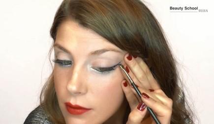 Eyeliner con glitter