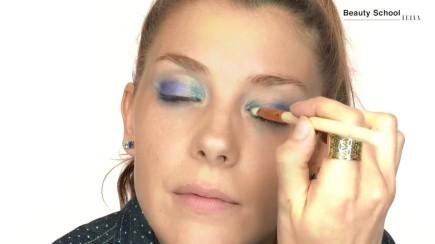 Maquillaje atrevido de festival