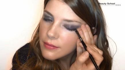 Maquillaje en grises para las fiestas