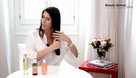 ¿Cómo se aplica el aceite para el pelo?