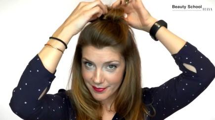 ¿Cómo hacer un peinado en cinco minutos?