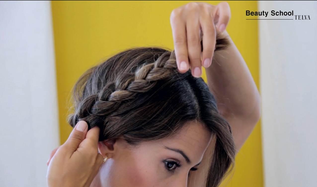 Como Hacer Un Peinado Con Trenzas Tutorial En Beauty School