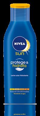 Leche solar hidratante