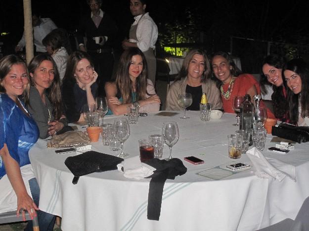 Huga, Emi, Andrea, Adriana, Ana Ou, Geñi y Lala