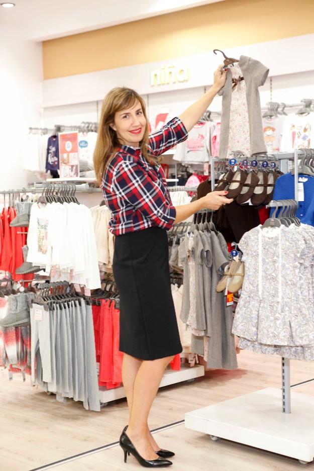 Elena López en Mothercare