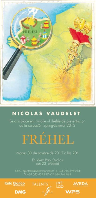 Invitación de Nicolas Vaudelet