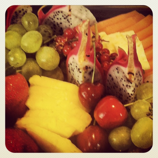 Detalles de frutas