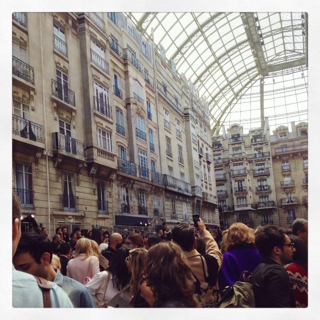 Todos hicieron fotos del Gran Palais