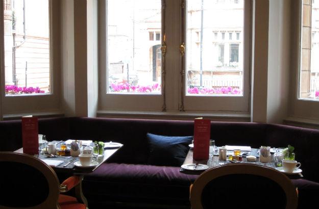 El salón del desayuno