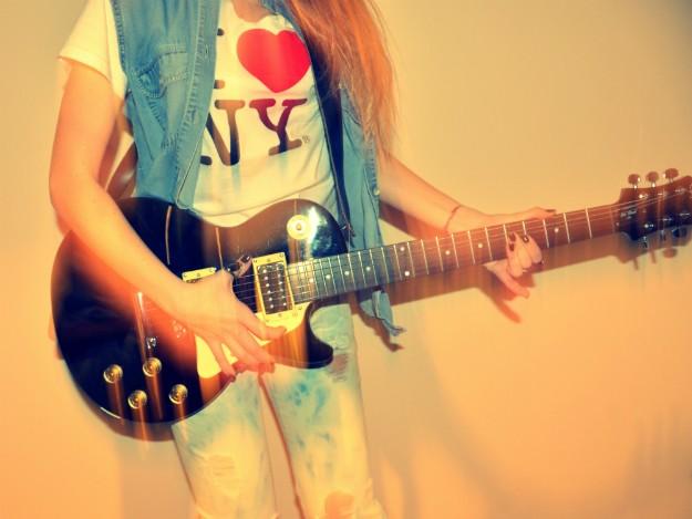 Mum, I wanna be a Rock Star!